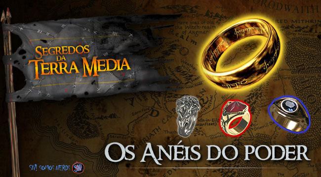 Segredos da Terra Média - Os anéis do poder
